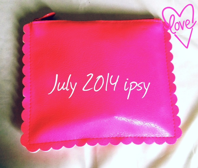 Sensationally Sun-kissed ipsy Glam Bag July 2014