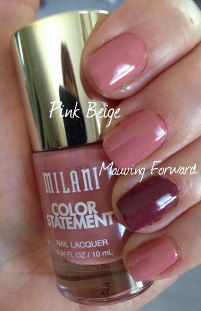 Milani Color Statement Nail Lacquer, Pink Beige
