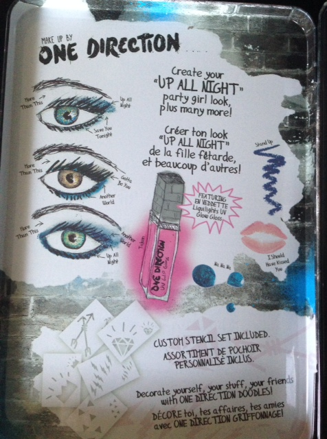 """Up All Night"" eye look illustrations"