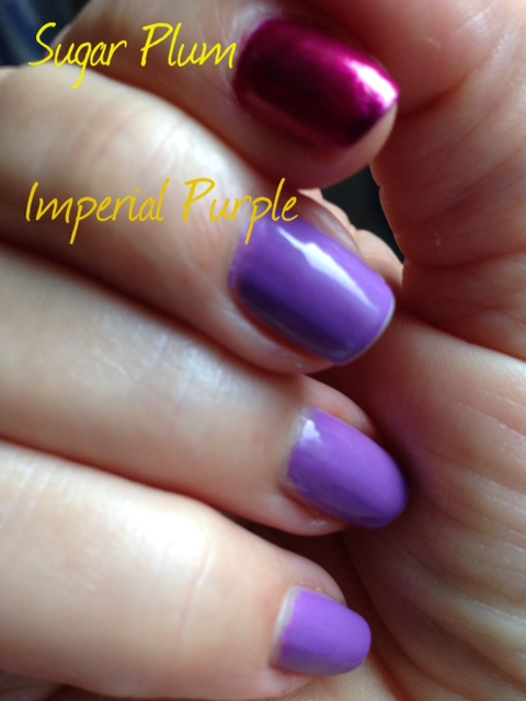 Milani Color Statement Nail Lacquer, Imperial Purple, Sugar Plum
