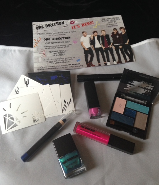 One Direction Limited Edition Makeup Collection