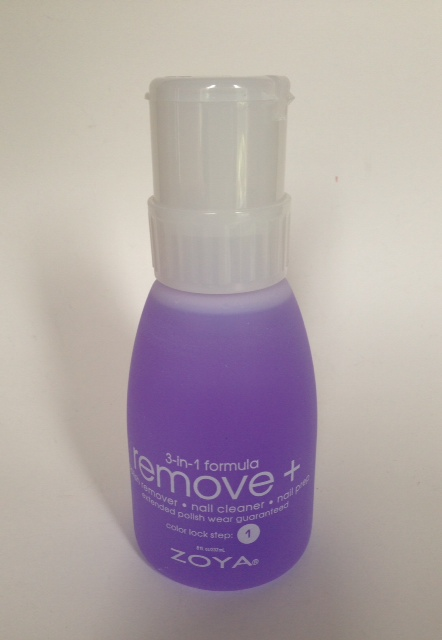 nail polish remover and conditioner