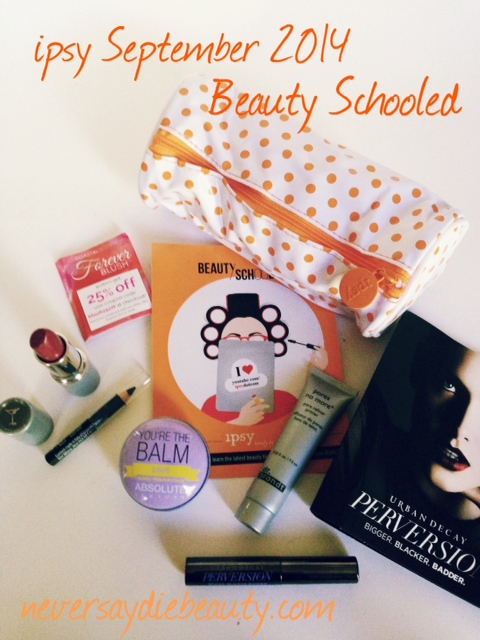 Beauty Schooled Glam Bag