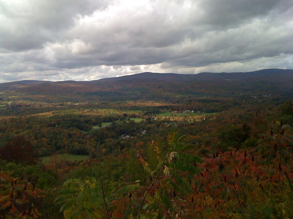 fall foliage, western Massachusetts