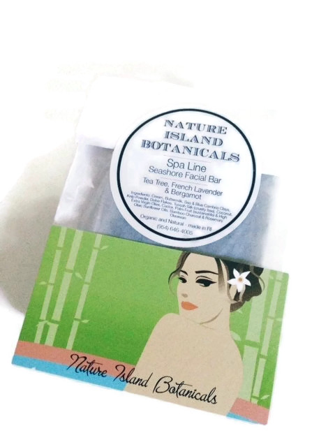 Nature Island Botanicals Spa Line Facial Soap