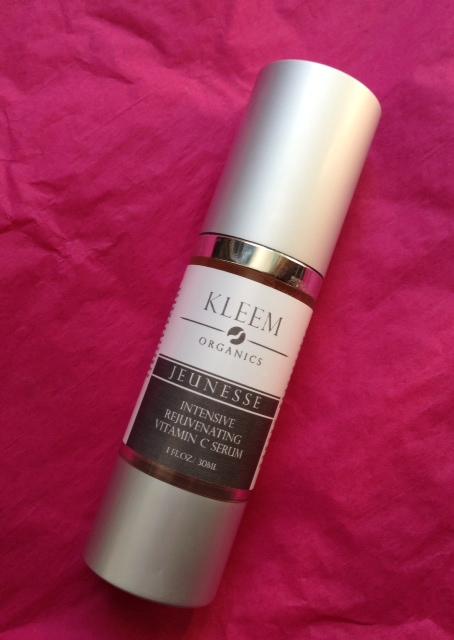 Kleem Jeunesse Vitamin C Serum facial serum neversaydiebeauty.com @redAllison