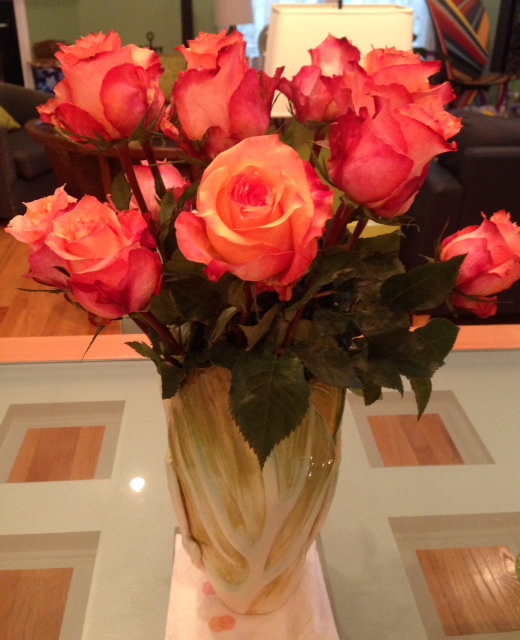The Bouqs.com, flower delivery service, Dawn coral roses