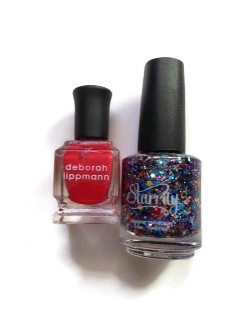 Starrily and Deborah Lippmann nail polish