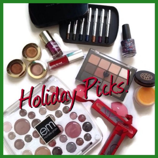 Beauty products for holiday gifting