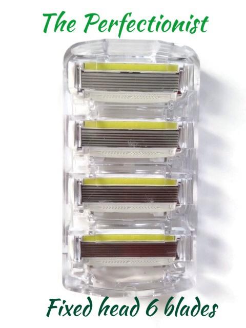 razor 6 blade cartridges