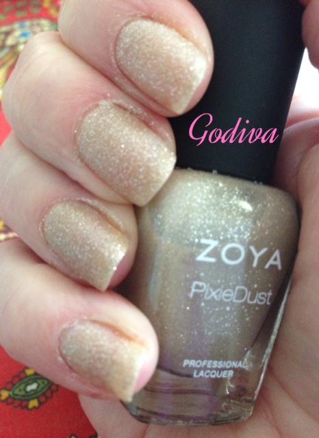 shimmer nail polish, nail lacquer