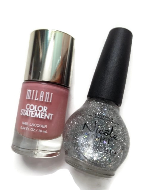 nail lacquer, nail polish, glitter topper
