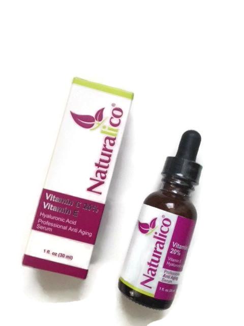 Vitamin C 20% Serum with Hyaluronic Acid