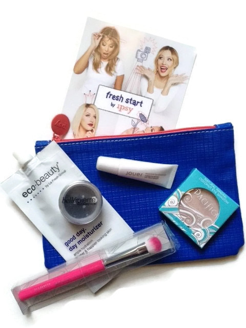 Fresh Start ipsy Glam Bag January 2015