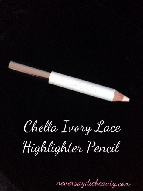 Chella Ivory Lace Highlighter Pencil