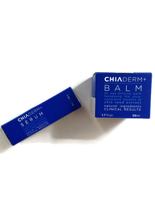 ChiaDerm Serum and Balm: Serious Skincare from Chia Seeds