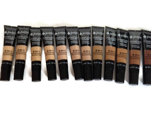 Maximum Coverage 2-in-1 Concealer & Foundation