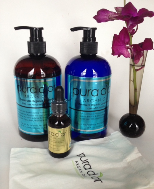 Pura D'Or organic haircare and skincare products