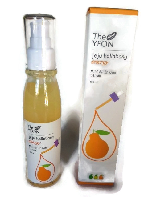 organic vitamin C serum, Hallabong citrus serum from Jeju Island
