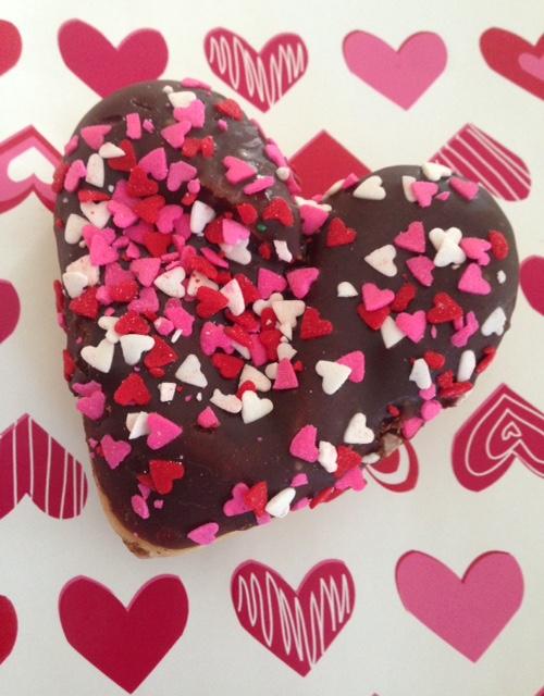 Dunkin Donuts Valentine's donut