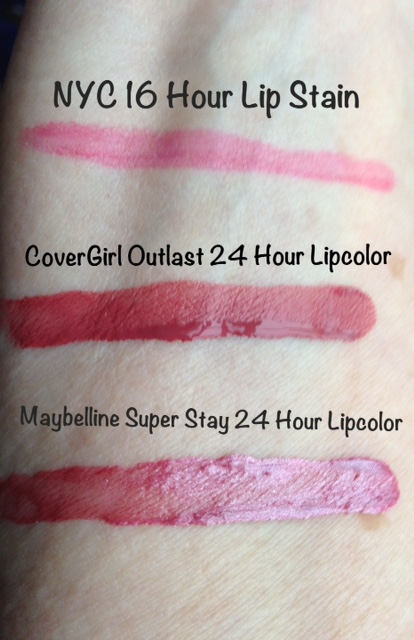 Drugstore longwear lipsticks maybelline covergirl and for 24 hour beauty salon nyc