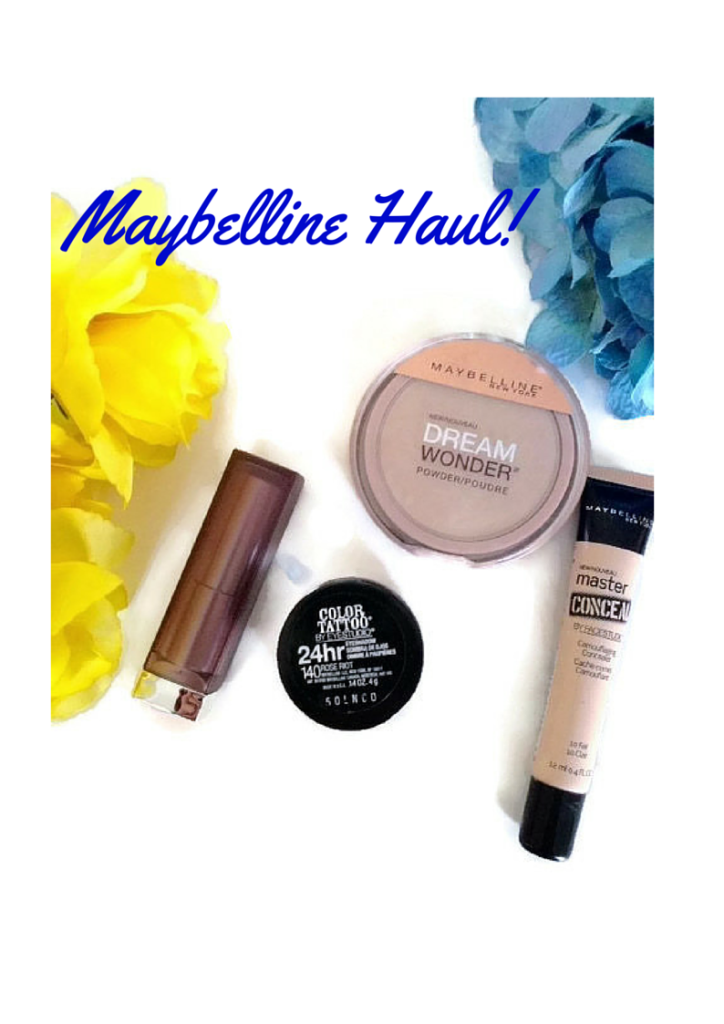 Maybelline Haul!