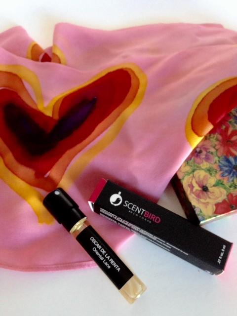 Oscar de la Renta perfume, fragrance subscription service, perfume