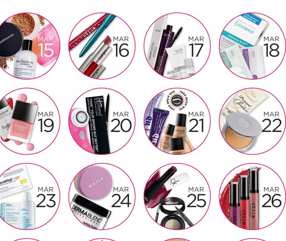 Ulta 21 Days of Beauty March 2015, part 1