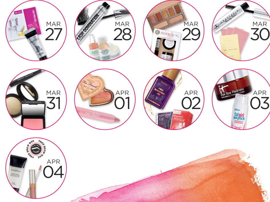 Ulta 21 Days of Beauty Spring 2015, part 2