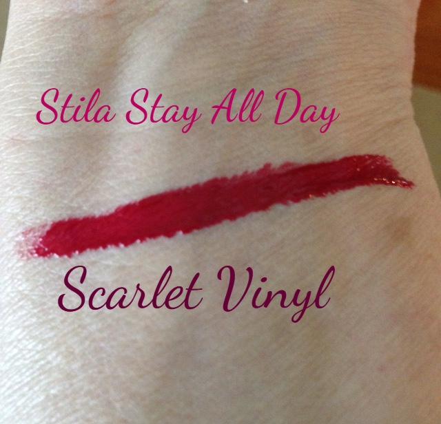 Scarlet Vinyl longwear lipgloss