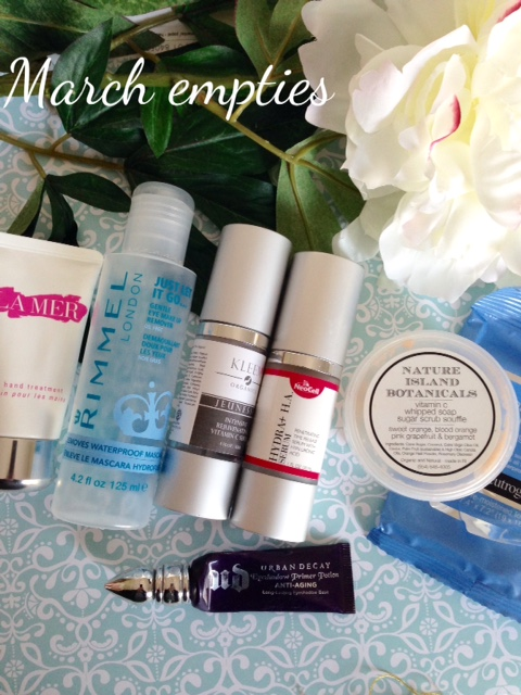beauty products, makeup, skincare