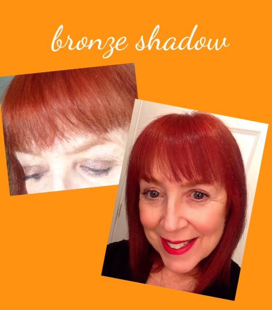 bronze eyeshadow, Milan palette