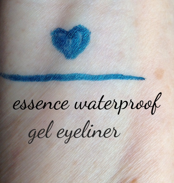essence gel waterproof eyeliner