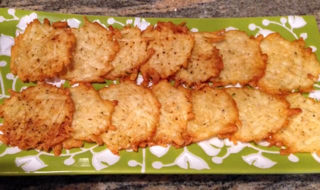 parmesan crisps, cheese appetizers