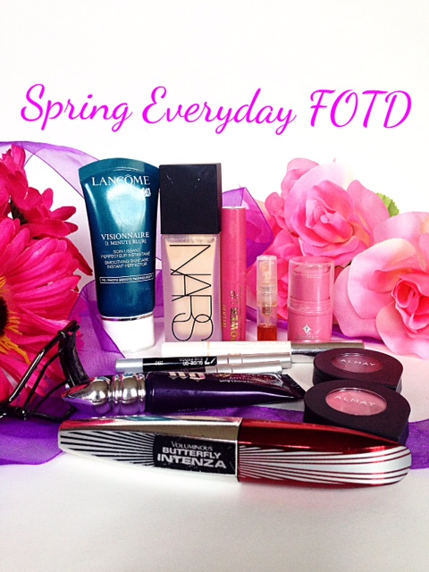 spring everyday makeup face-of-the-day