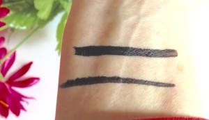 liquid eyeliner swatches