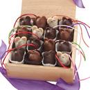 handmade chocolate mice