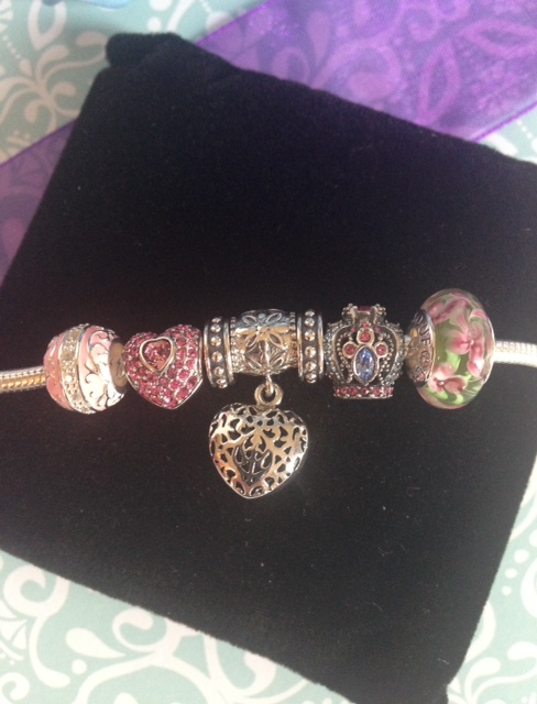 Soufeel sterling silver charm bracelet and charms with Swarovski crystals neversaydiebeauty.com @redAllison