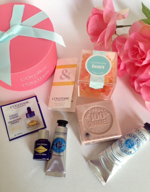 face, hand and body skincare products, product samples