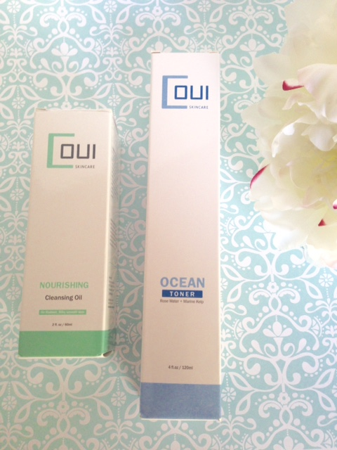 Coui Skincare Nourishing Cleansing Oil and Ocean Toner