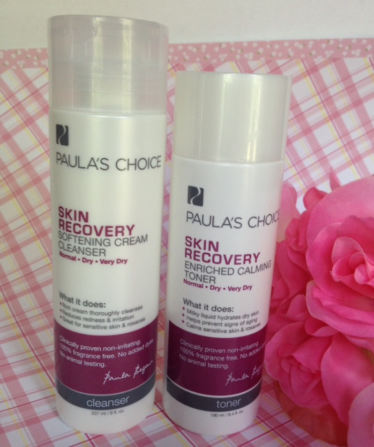 Paula's Choice Skin Recovery Cleanser and Toner