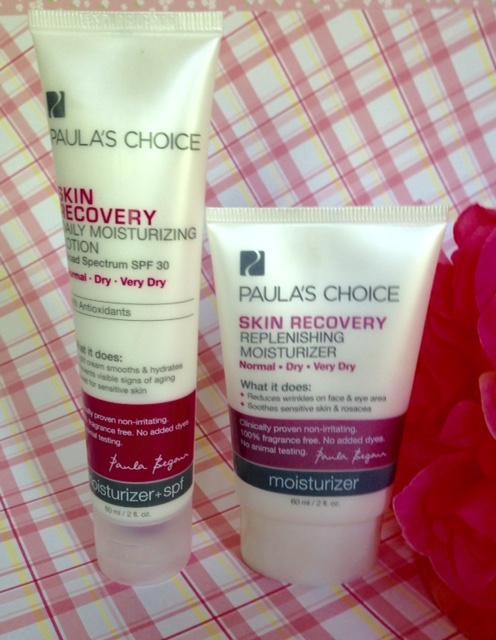 Paula's Choice Skin Discovery Daily Moisturizing Lotion and Replenishing Moisturizer