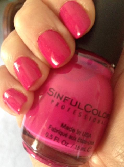 pink nail polish, affordable nail polish
