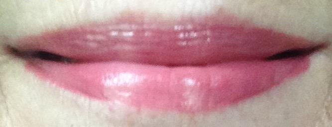 mauve lipgloss