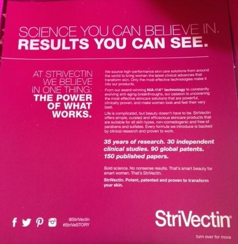 Strivectin skincare