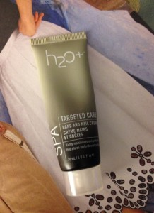 H2O+ Hand and Nail Cream neversaydiebeauty.com @redAllison