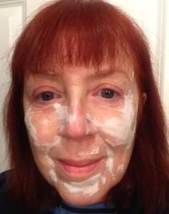 Exuviance Oxygen mask bubbles