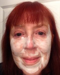 Exuviance Oxygen facial mask bubbles