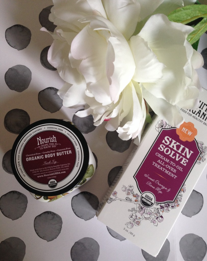 Nourish Organic Body Butter and Skin Solve