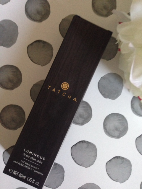 TATCHA Luminous Dewy Mist Spray outer packaging